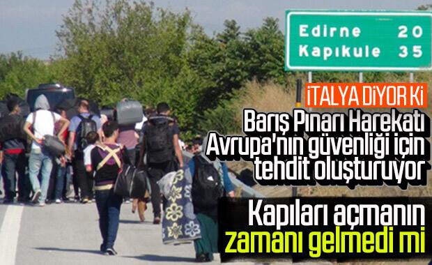 İtalya: Türkiye Avrupa'yı tehlikeye sokuyor
