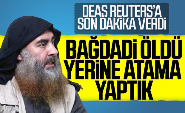DEAŞ Bağdadi'nin ölümünü doğruladı