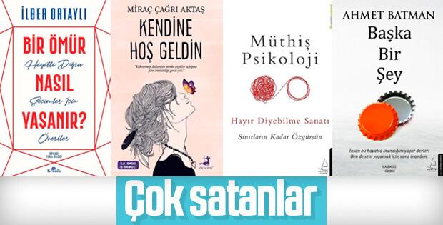 Çok satan kitaplar - 01 Kasım 2019