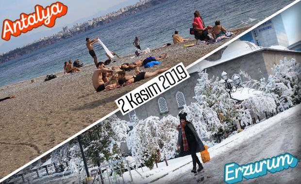 Antalya'da kasım ayı denizde geçiyor