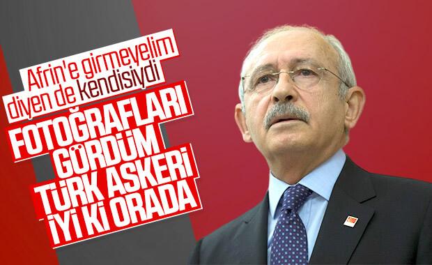 Kemal Kılıçdaroğlu'nun Afrin çarkı