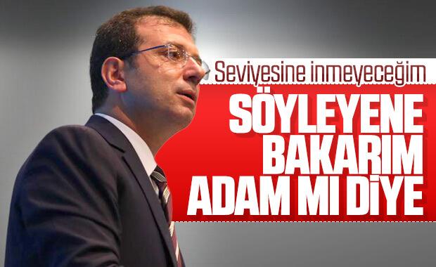 Ekrem İmamoğlu, Süleyman Soylu'ya cevap verdi