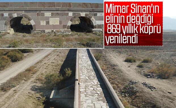Kırkgöz Köprüsü tarihe meydan okuyor