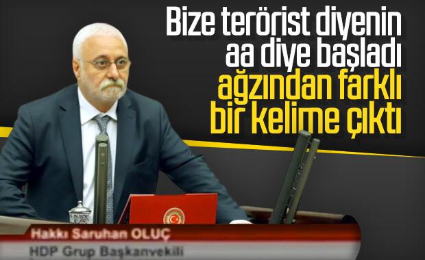 HDP'den 'biz terörist değiliz' tartışması