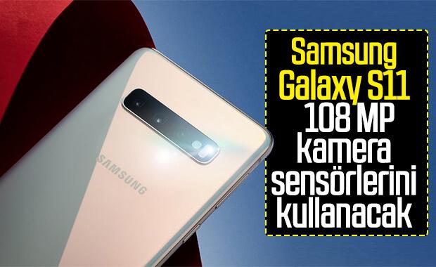 Samsung Galaxy S11, 108 MP kamera ile gelecek