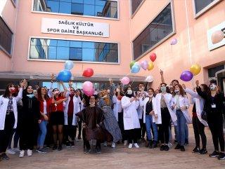 Trakya Üniversitesi'nde lösemi farkındalık etkinliği