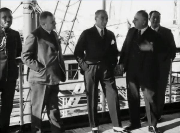Atatürk'ün 1930'da çekilen, ilk kez yayınlanan videosu