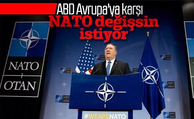 Macron'dan sonra Pompeo'dan NATO yorumu