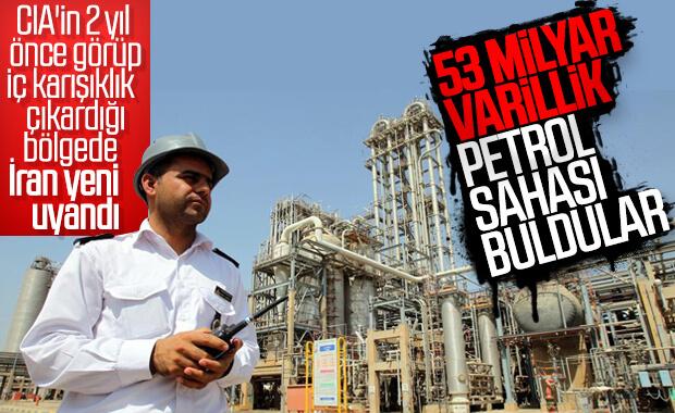 İran yeni petrol rezervi keşfetti