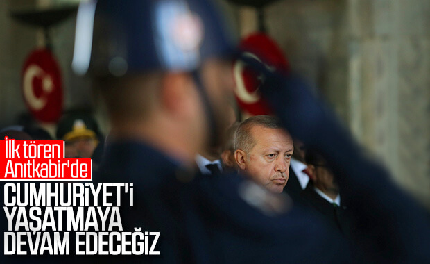 Türkiye, Mustafa Kemal Atatürk'ü anıyor