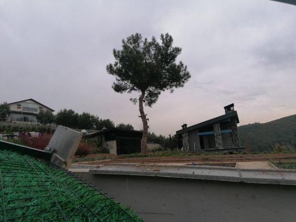 Nilüfer'de kaçak yapı yıkımı başladı