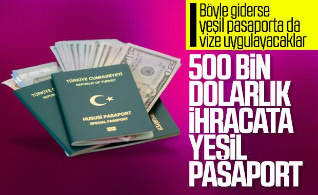 İhracatçılara yeşil pasaport kolaylığı