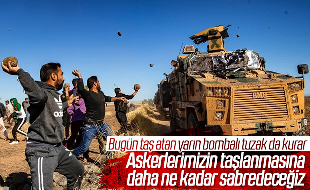Suriye'de dördüncü kara devriyesi sırasında saldırı