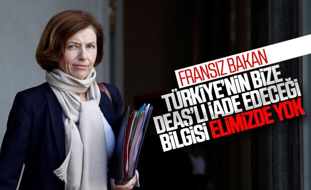 Fransa: Türkiye'nin terörist iade edeceği bilgimiz yok