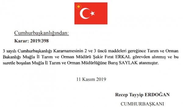AK Parti'nin kaybeden adayı Muğla'ya müdür oldu
