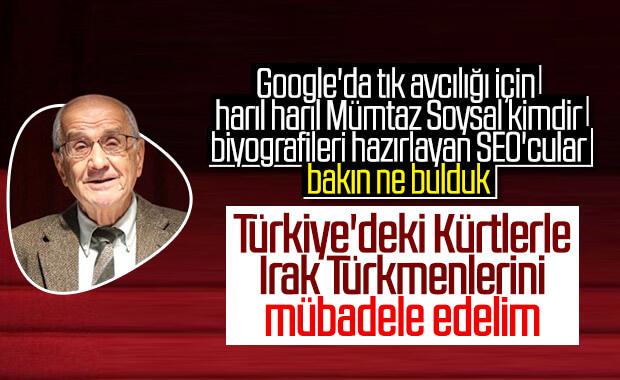 Mümtaz Soysal'ın Kürt-Türkmen mübadelesi teklifi