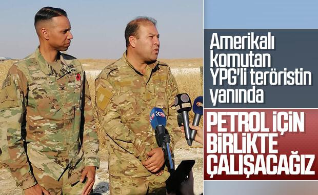 ABD'li komutanlar yine YPG'lilerle yan yana
