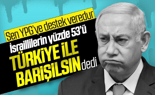 İsraillilerin yüzde 53'ü Türkiye ile ilişkilerin geliştirilmesini istiyor