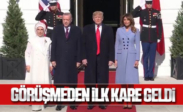 Erdoğan, Beyaz Saray'da