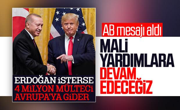 AB'ye Türkiye önerisi: Mali yardımlara devam edilmeli