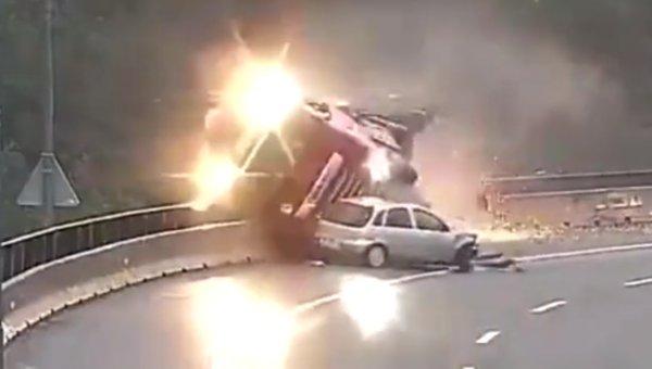 Slovenya'da feci kaza: 1 ölü