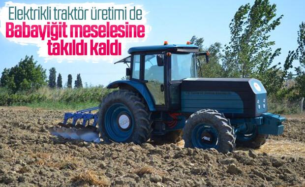 Elektrikli traktörde seri üretime geçiş hedefleniyor