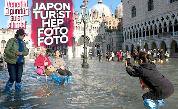 Suların çekilmediği Venedik'te OHAL ilan edildi