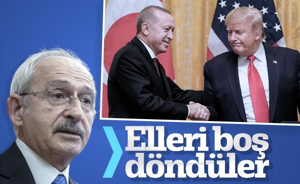 Kılıçdaroğlu, Erdoğan'ın ABD seyahatini değerlendirdi