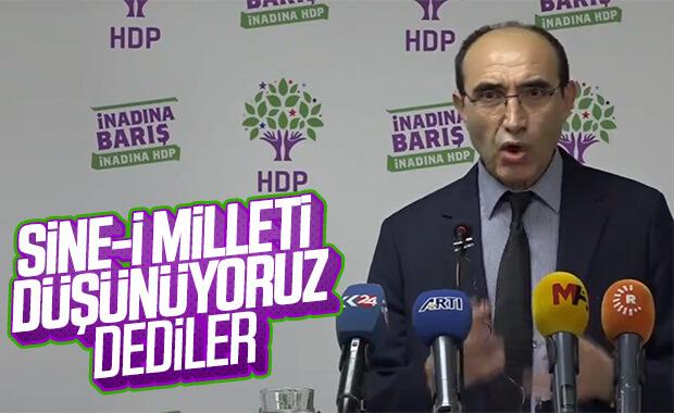 HDP'nin gündeminde sine-i millet var