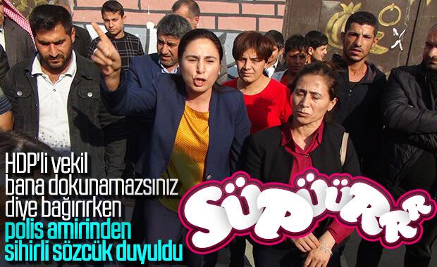 Şanlıurfa'da HDP'liler yine olay çıkardı