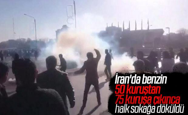 İran'da zam protestoları başladı