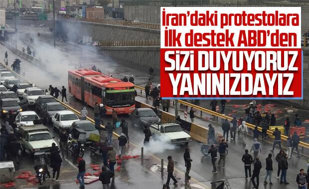 Pompeo'dan İranlı protestoculara: ABD yanınızda