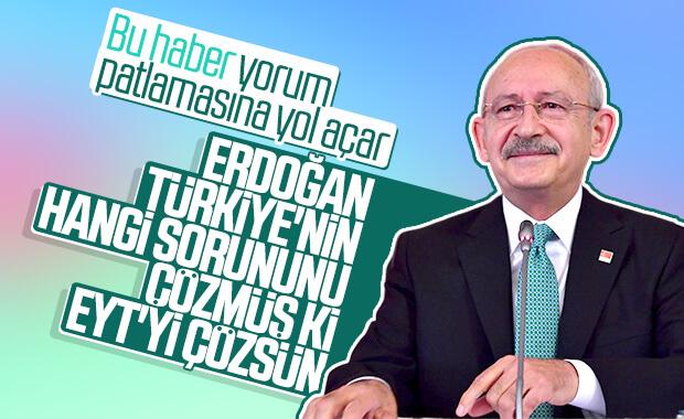 Kemal Kılıçdaroğlu: EYT sorununu biz çözeriz