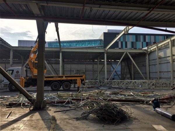 Atatürk Havalimanı'nda yıkım işlemleri başladı