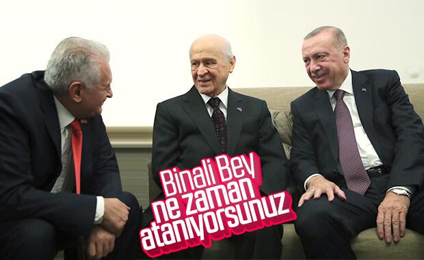 Cumhurbaşkanı Erdoğan, Bahçeli ile bir araya geldi