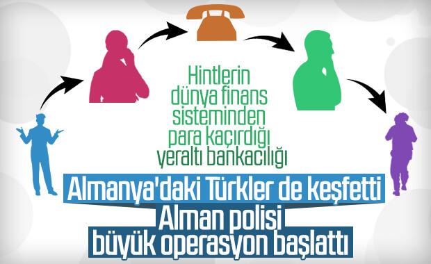 Türk-Alman yeraltı para transferi örgütüne operasyon