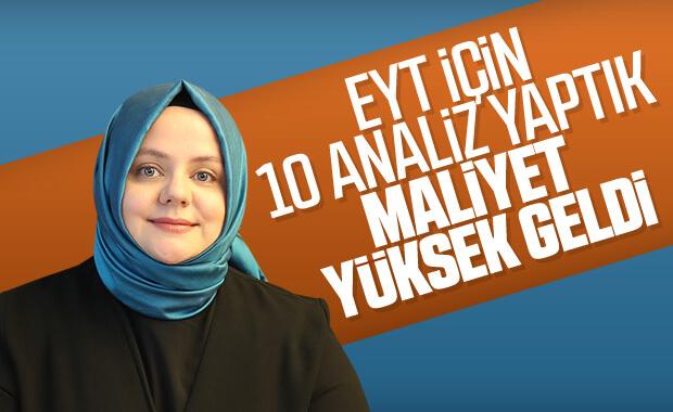 Bakan Zehra Zümrüt Selçuk'tan EYT açıklaması
