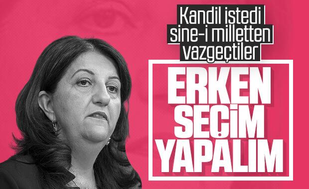 HDP: Meydan okuyoruz, erken seçime gidelim