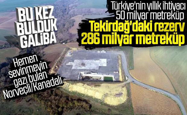 Tekirdağ'da 286 milyar metreküp doğalgaz rezervi çıktı