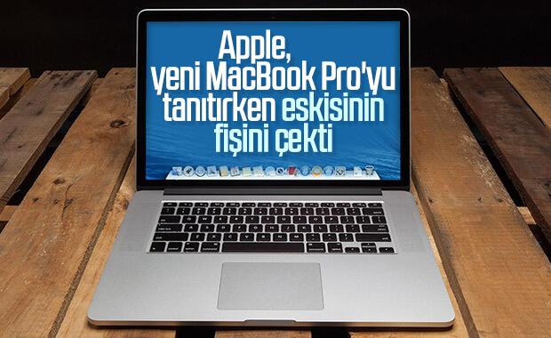 Apple, 15 inç MacBook Pro'nun üretimini durdurdu