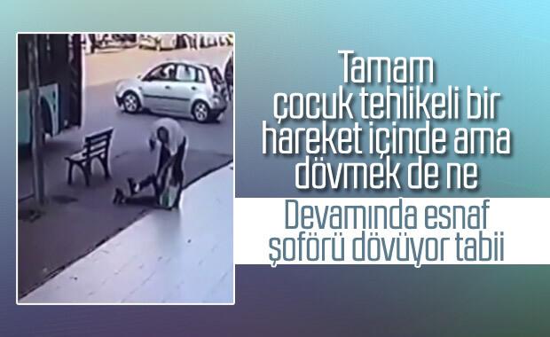 Antalya'da otobüs şoförü bir çocuğu darbetti