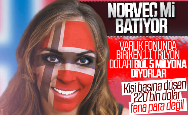 Norveç'te varlık fonundan kişi başına 220 bin dolar