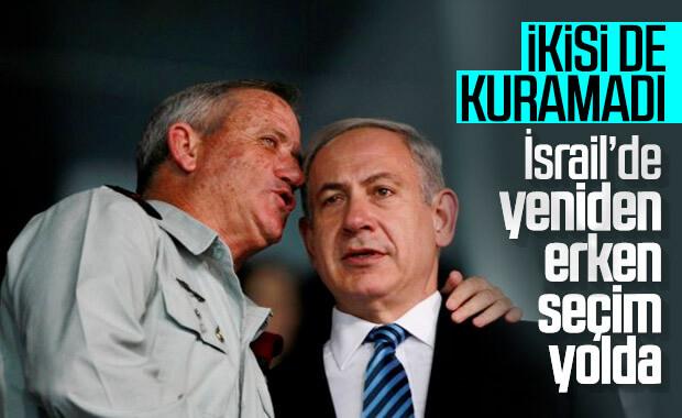 İsrail'de hükümet halen kurulamıyor