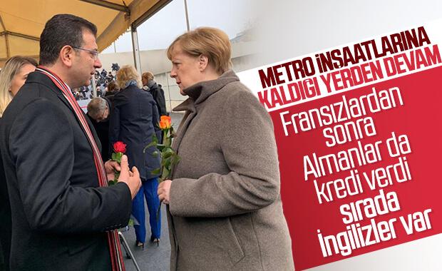 İBB duran metro hattı için Alman bankasından kredi aldı