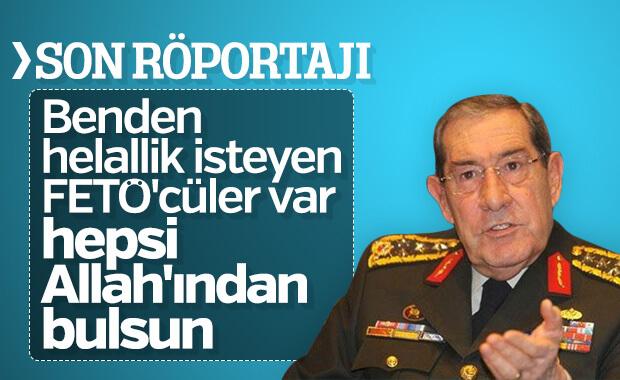 Yaşar Büyükanıt'ın son röportajı