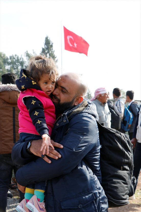 Suriyeliler  Resulayn'a kesin dönüş yapıyor