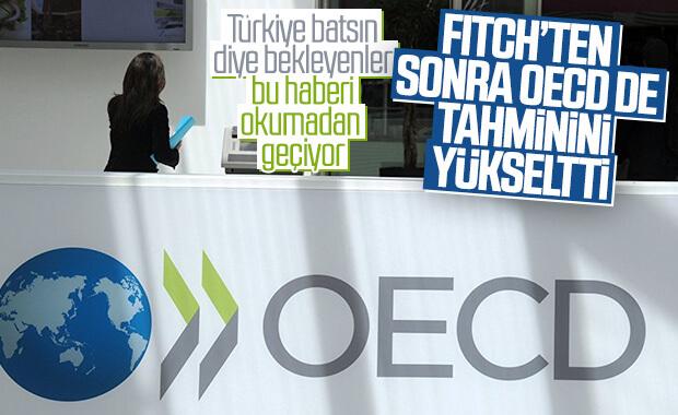 OECD, Türkiye ekonomisinin büyüme tahminlerini yükseltti