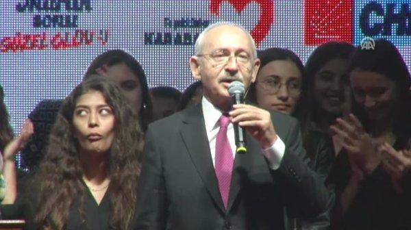 Kılıçdaroğlu'nun iktidar hayali kızları güldürdü