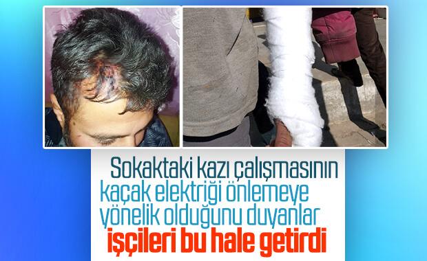 Şanlıurfa'da kaçak elektrik saldırısı: 6 yaralı