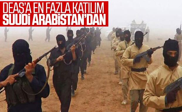 Terör örgütü DEAŞ'a en fazla katılım Suudi Arabistan'dan
